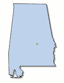 Map Of Alabama And County Map