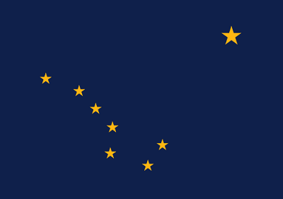 Picture of Alaska Flag