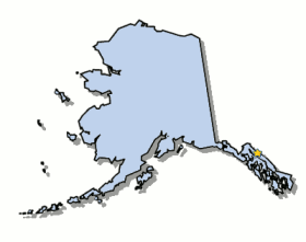 Map Of Alaska And County Map