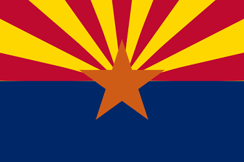 Big Picture of Arizona State Flag
