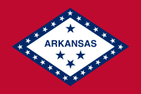 Picture of Arkansas Flag