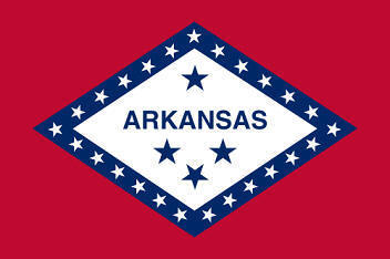 Big Picture of Big Picture of Arkansas State Flag