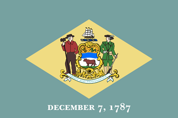 Big Picture of Delaware State Flag