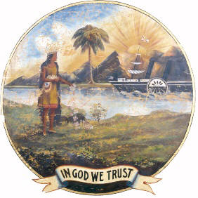 1868 version of the Florida State Seal