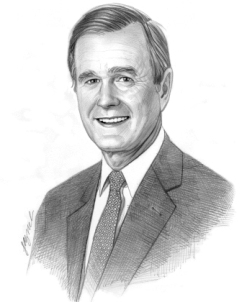 Picture of George H. Bush