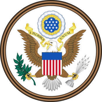 Great Seal of the United States Motto - Front