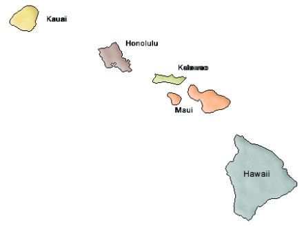 Related Keywords Amp Suggestions For Hawaii County Map Outline