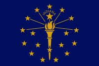 Picture of Indiana Flag