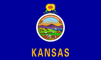 Big Picture of Kansas State Flag