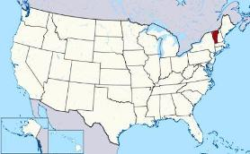Map Of Vermont And County Map - Vermont in usa map