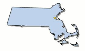 map of Boston Metropolitan Area
