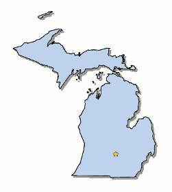 Map Of Michigan And County Map