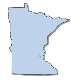 Minnesota Map Png.Capital Of Minnesota St Paul