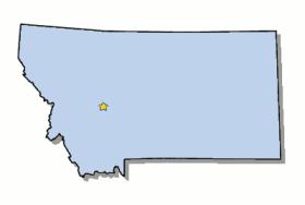 Capital of Montana - Helena ***