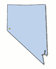 Map of Nevada and County Map