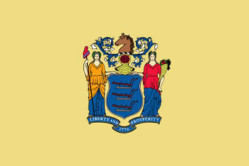 Big Picture of New Jersey State Flag