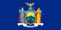 Picture of New York Flag