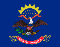Picture of North Dakota Flag