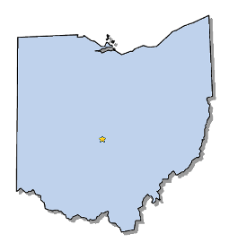 Ohio Map | United States | Map of Ohio - AnnaMap.com |Ohio State Capital Map