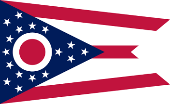 Big Picture of Ohio State Flag