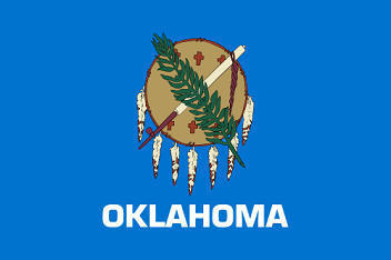 Big Picture of Oklahoma State Flag