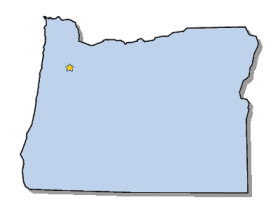 Capital Of Oregon Map.Map Of Oregon And County Map