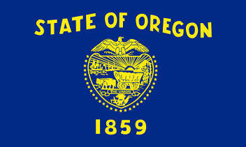 Big Picture of Oregon State Flag