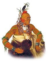 Picture of an Osage Native American