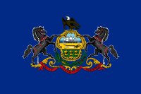 Picture of Pennsylvania Flag