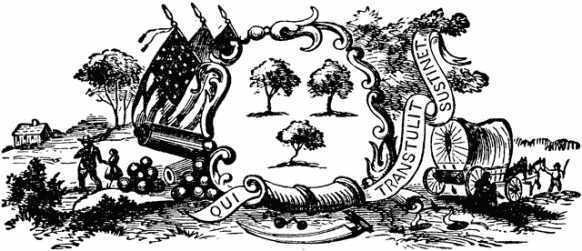 Official seal of colonial Connecticut in 1635