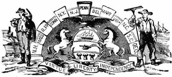 Seal of the commonwealth of Pennsylvania, 1876