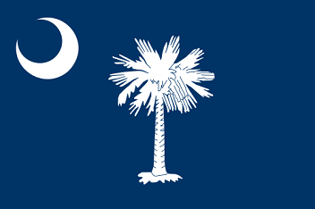 Big Picture of South Carolina State Flag