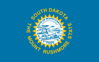 Picture of South Dakota Flag