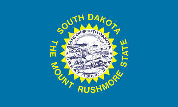 Big Picture of South Dakota State Flag