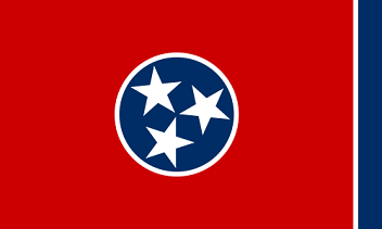 Big Picture of Tennessee State Flag