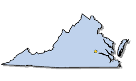 Outline Map Of Virginia.Map Of Virginia And County Map